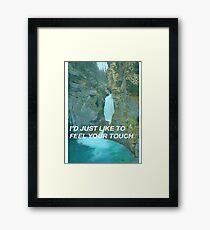 cheap aesthetic Framed Print