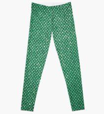 Green Mermaid Leggings