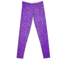 Purple Mermaid Leggings