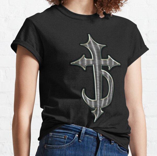 iron devil cross symbol Classic T-Shirt