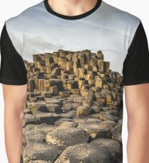 Ireland - The Giants Causeway Graphic T-Shirt
