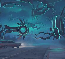 Spawning Event by Simon Stålenhag