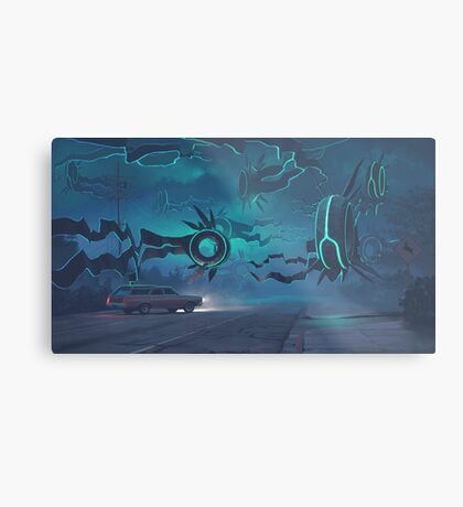 Spawning Event Metal Print