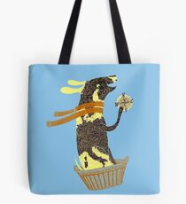 Travel Dog Let's Go Places Tote Bag