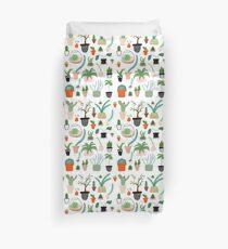 Kakteen, Kaktus, Sukkulente, Pflanzenmuster drucken Bettbezug