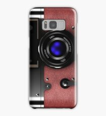 Vintage retro rangefinder camera phone cases Samsung Galaxy Case/Skin