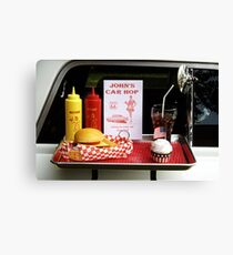 1950's Drive-in Canvas Print