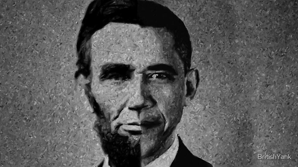 Impressionist Interpretation of Lincoln Becoming Obama by BritishYank