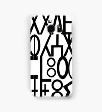 ancient languages  Samsung Galaxy Case/Skin