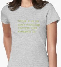 Dancing and encrypting T-Shirt