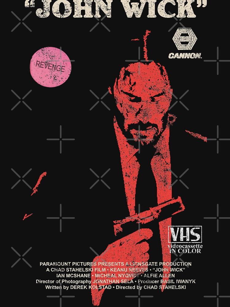 John Wick VHS  by lonestarrvhs
