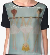 Look at things differently Women's Chiffon Top