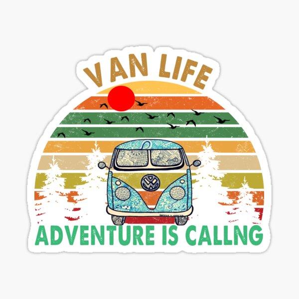 VAN LIFE Adventure is calling Sticker
