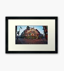 Ireland - Pub in Dublin Framed Print