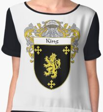 King Coat of Arms/Family Crest Chiffon Top