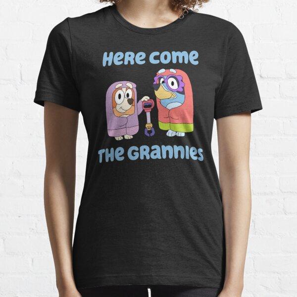 Aquí vienen las abuelas Camiseta esencial