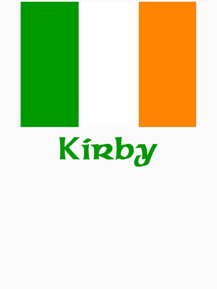 Kirby Irish Flag by IrishArms