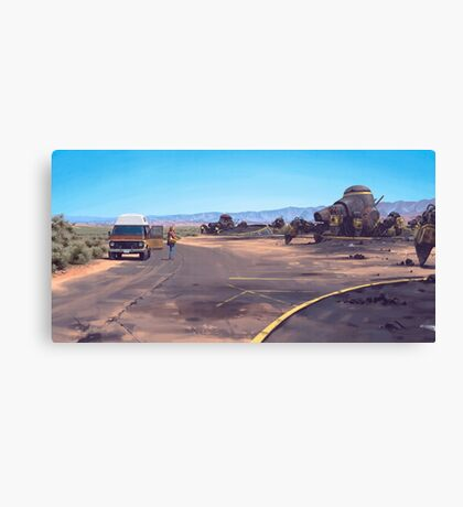 The Geologist Canvas Print