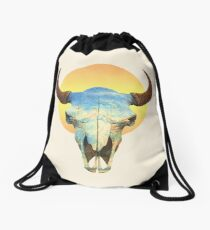 Big Sky  Drawstring Bag