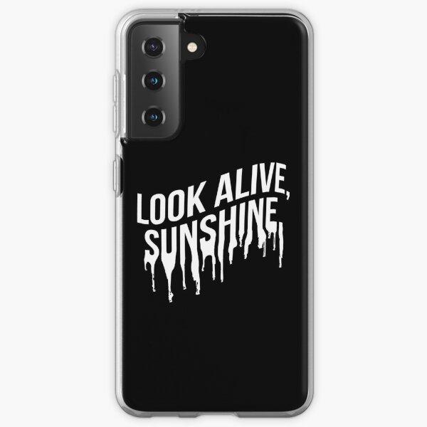 White Drip Text (Black) Samsung Galaxy Soft Case