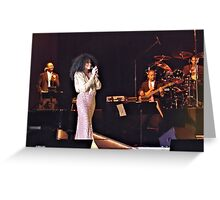 Diana Ross  Greeting Card