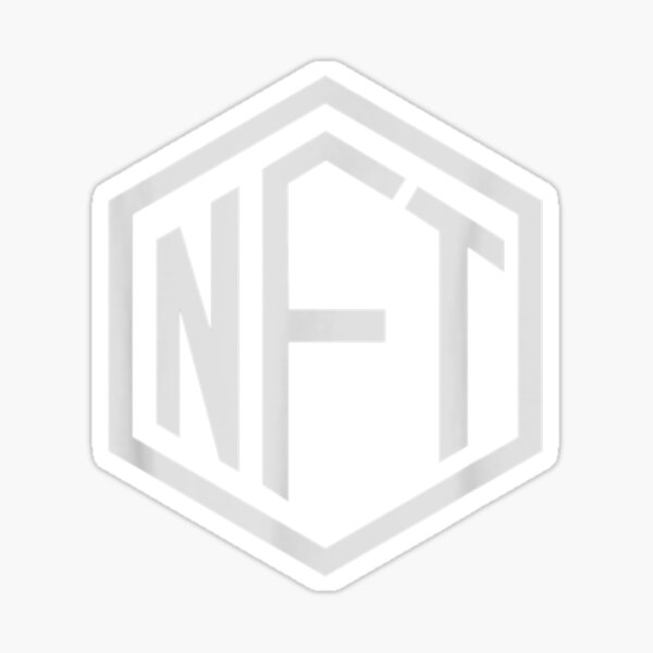 NFT NON-FUNGIBLE TOKEN CRYPTO CURRENCY HODL TO THE Sticker