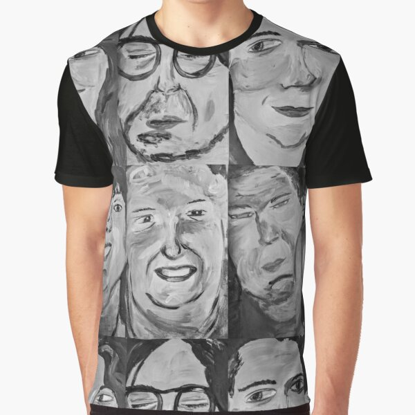 6 People Graphic T-Shirt