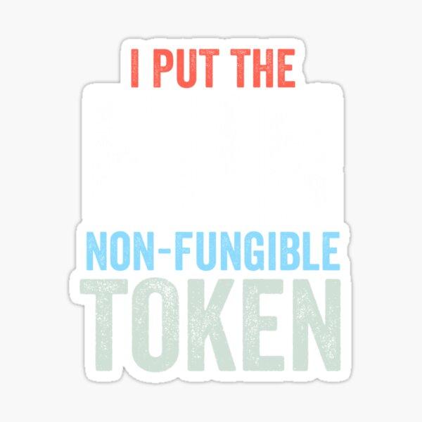 Non-Fungible Token NFT Crypto Art  Crypto Sticker