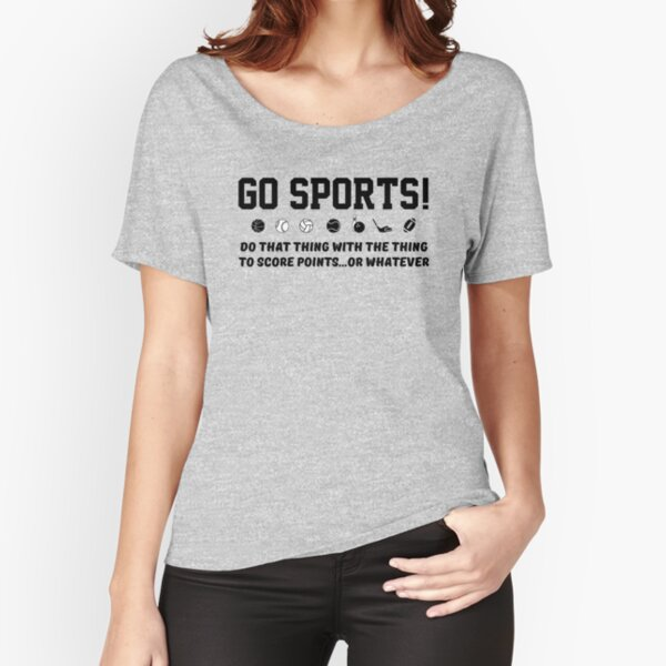 Go Sports! Relaxed Fit T-Shirt