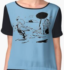 Pulp Fiction - Jules Winnfield Shirt Women's Chiffon Top
