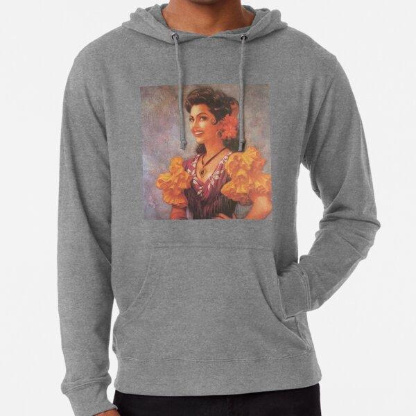 pinup flamenco girl Lightweight Hoodie