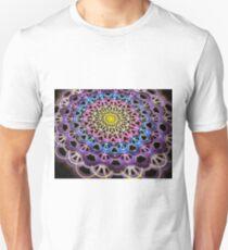 Colorful Crackle Weave Unisex T-Shirt