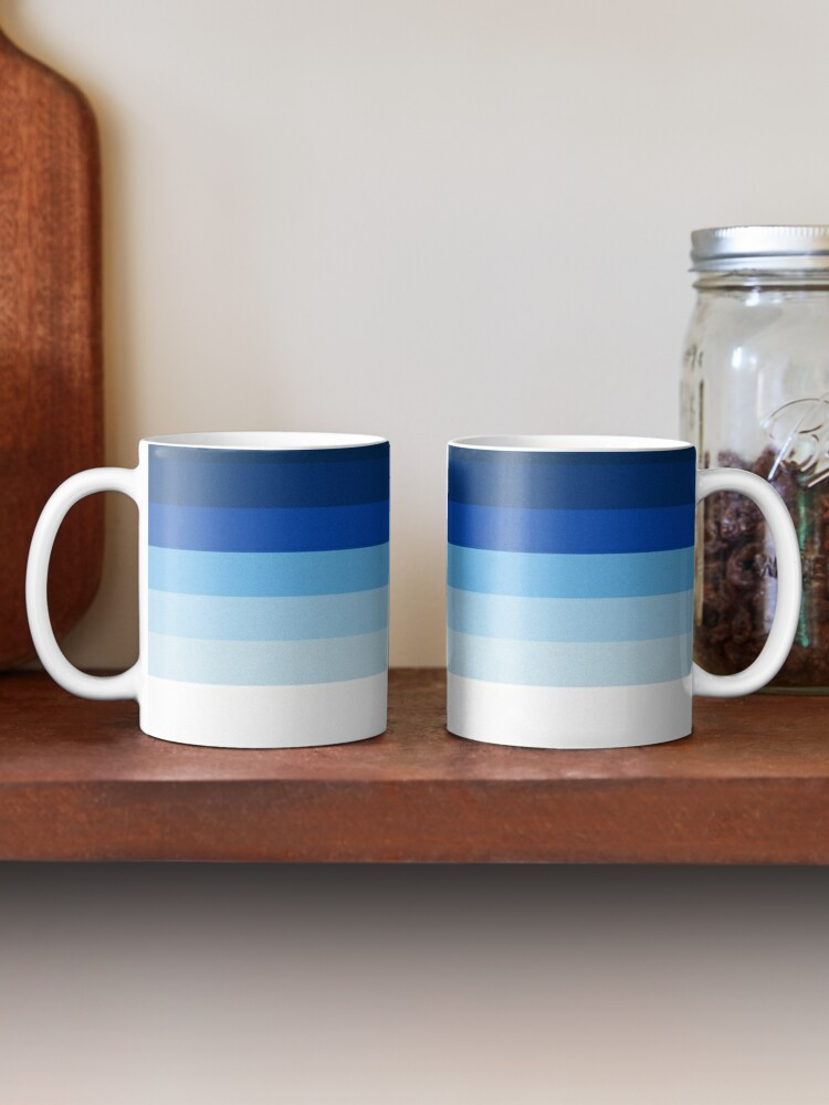 Alternate view of Blue Lines Mug