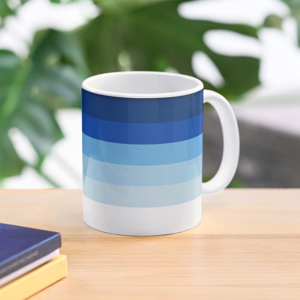 Blue Lines Mug