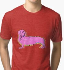 Always Keep Your Doxie Around You Tri-blend T-Shirt