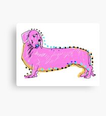 Always Keep Your Doxie Around You Canvas Print