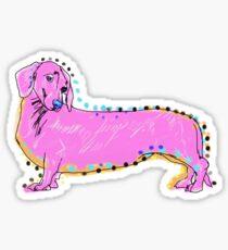 Always Keep Your Doxie Around You Sticker