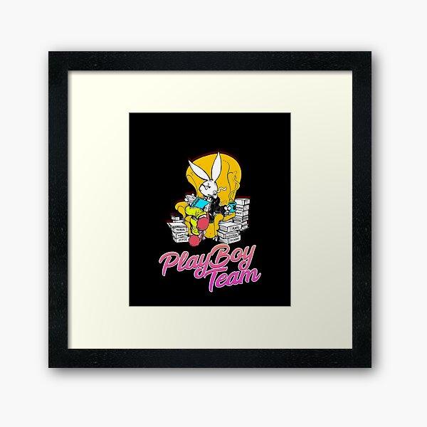 Pacsun Playboy Framed Art Print