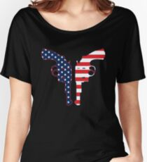 America Reloaded Women's Relaxed Fit T-Shirt