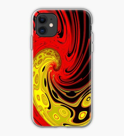 Tide of life iPhone Case