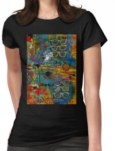 Visions of a Good LIFE Womens Fitted T-Shirt