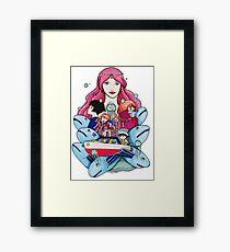 Ponyo Piece Framed Print