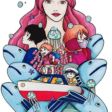 Ponyo Piece by RoseMitch