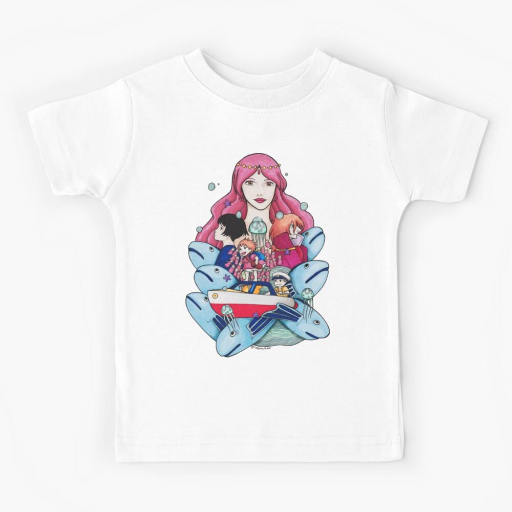 Ponyo Piece Camiseta para niños
