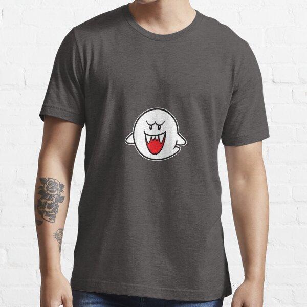 N intendo Super M ario Boo Character Portrait Graphic Essential T-Shirt