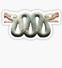 2 Headed Snake Sticker