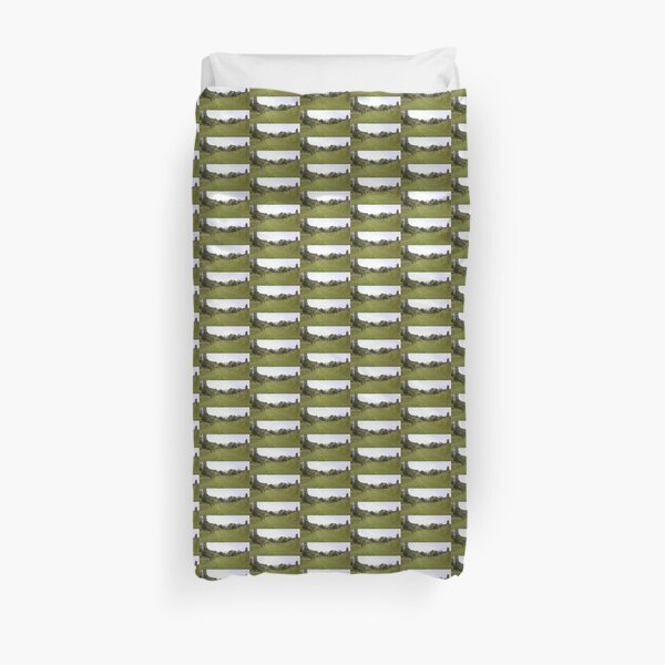 Green Valley Path Photo 1 Duvet Cover