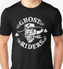 Ghost Riders White Unisex T-Shirt