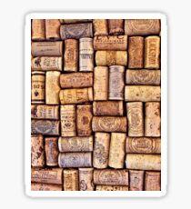 Cork Art Sticker