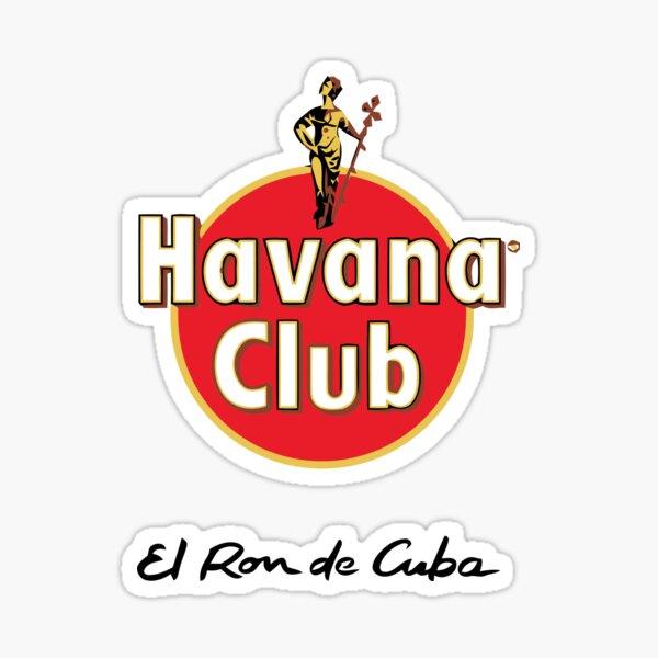 El Ron De Cuba Sticker